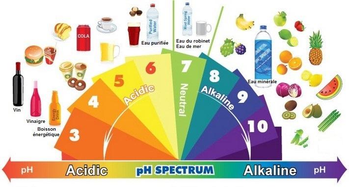 Exceptionnel Tableaux aliments Acide / Base QZ73