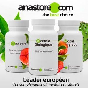 Anastore - Leader européen des compléments alimentaires