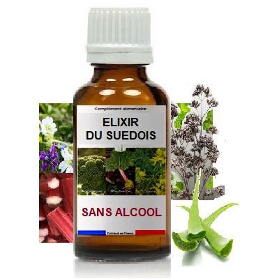 Elixir du suédois sans alcool (500 ml ou 1000 ml)