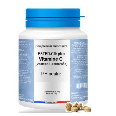 Ester-C® plus Vitamine C - (60comprimés de 2500mg)
