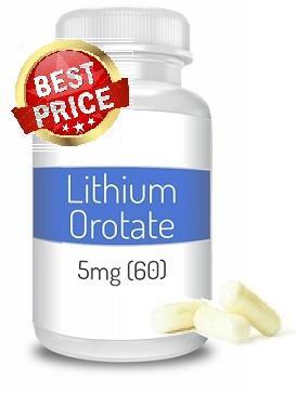 Lithium Orotate 5mg (60 gélules)