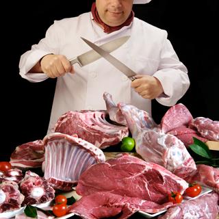 Tranchez pour une viande de premier choix