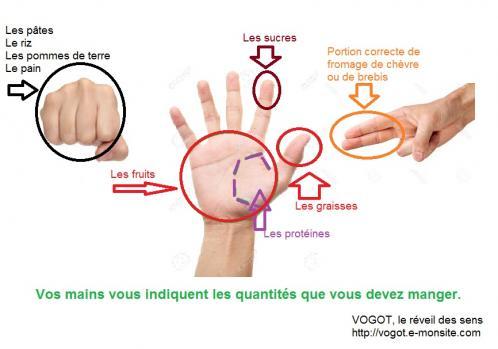 Vos mains vous indiquent